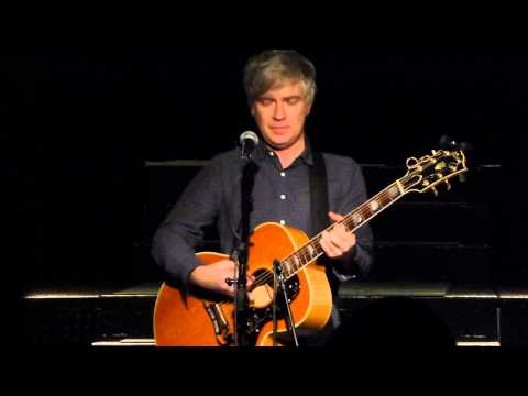 Matthew Caws (of Nada Surf) solo acoustic - Speed Your Love To Me (Simple Minds cover) - live 2013