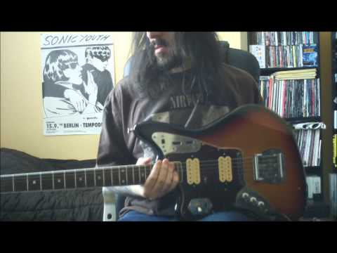 nirvana - love buzz - guitar cover - full hd