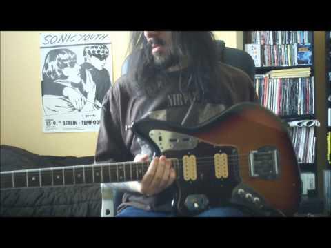 Nirvana  Love Buzz  guitar   Full HD