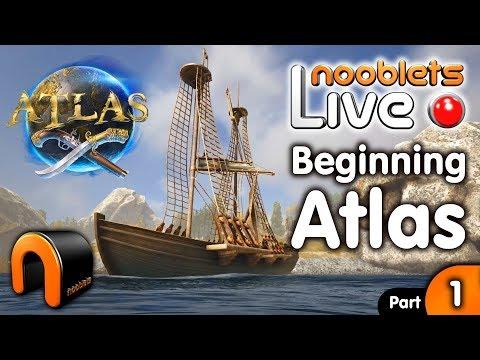 ATLAS The Beginning To A Ship! - Live Stream Episode 1