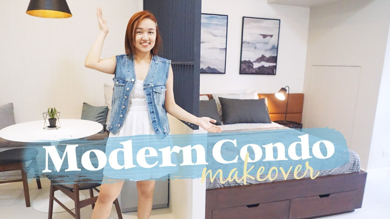 Spacious Studio Unit Makeover // Modern Condo Design // by Elle Uy