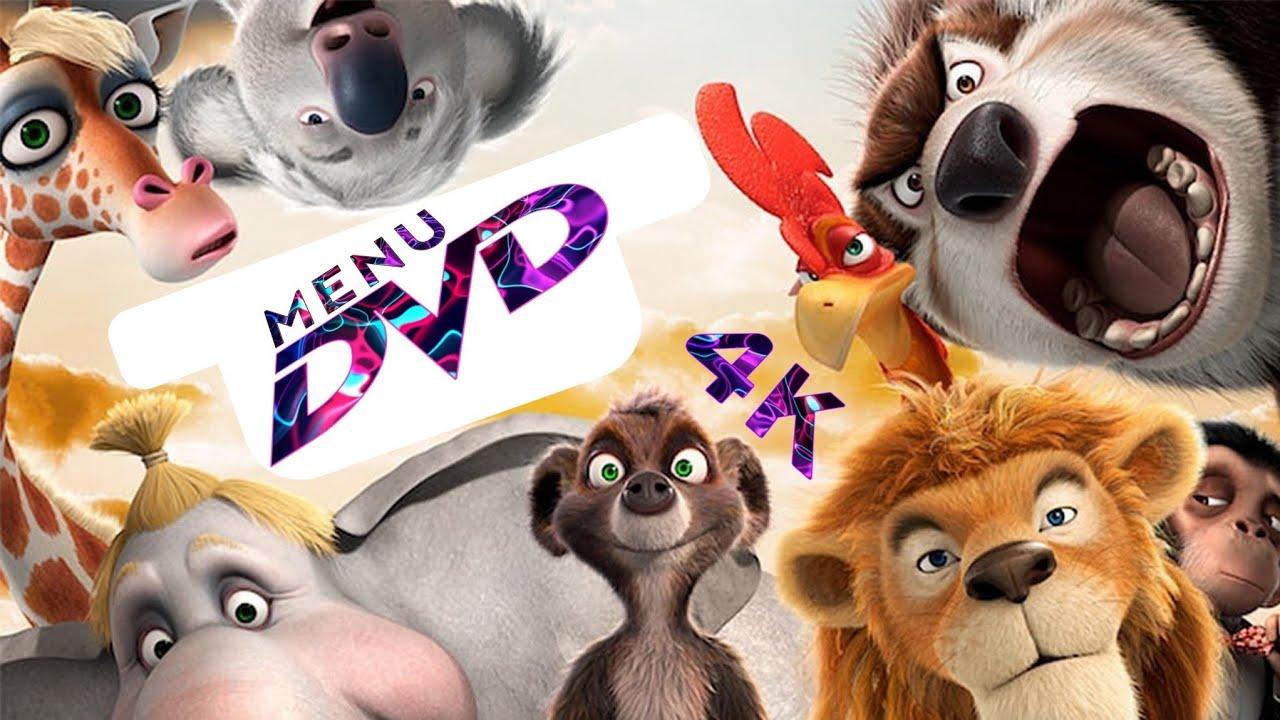 Download Menu DVD-Animals United (2010) In 4K