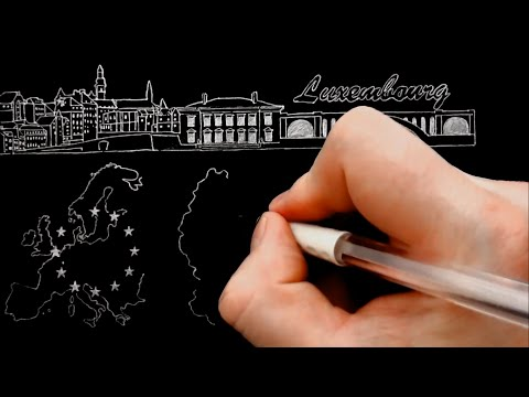 Illustration - Multilingual Banking in Luxembourg /Dr. L. Ki