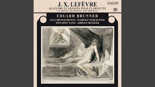 Clarinet Quartet No. 6 in B-Flat Major: I. Allegro Moderato con Espressione