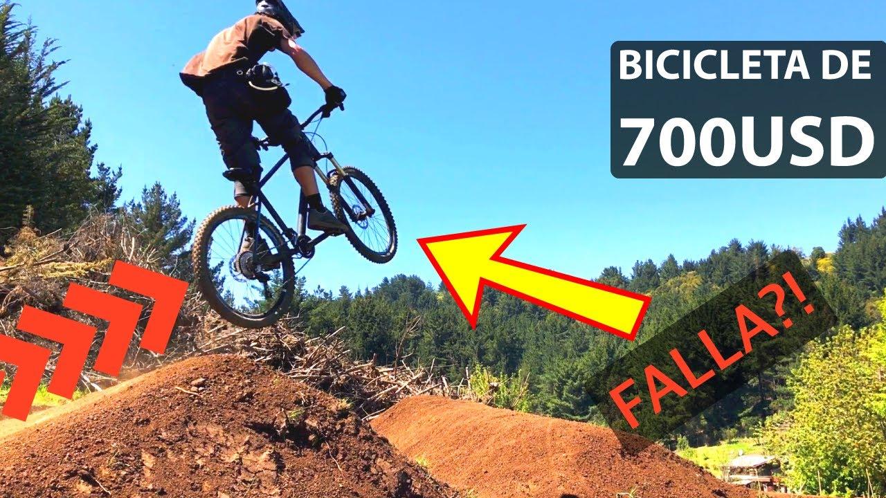 Abusando de una Bicicleta Gama Media! Tablón Endurero #7!