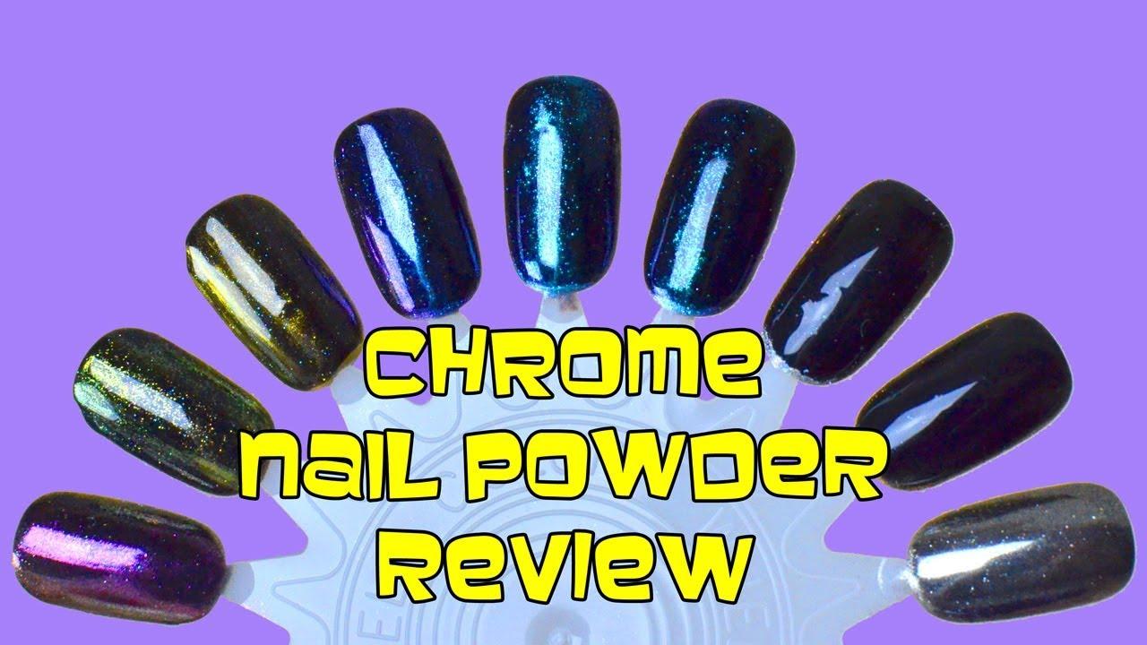 Chrome Nail Powder   Amazon Product Review   Bethany G - YouTube