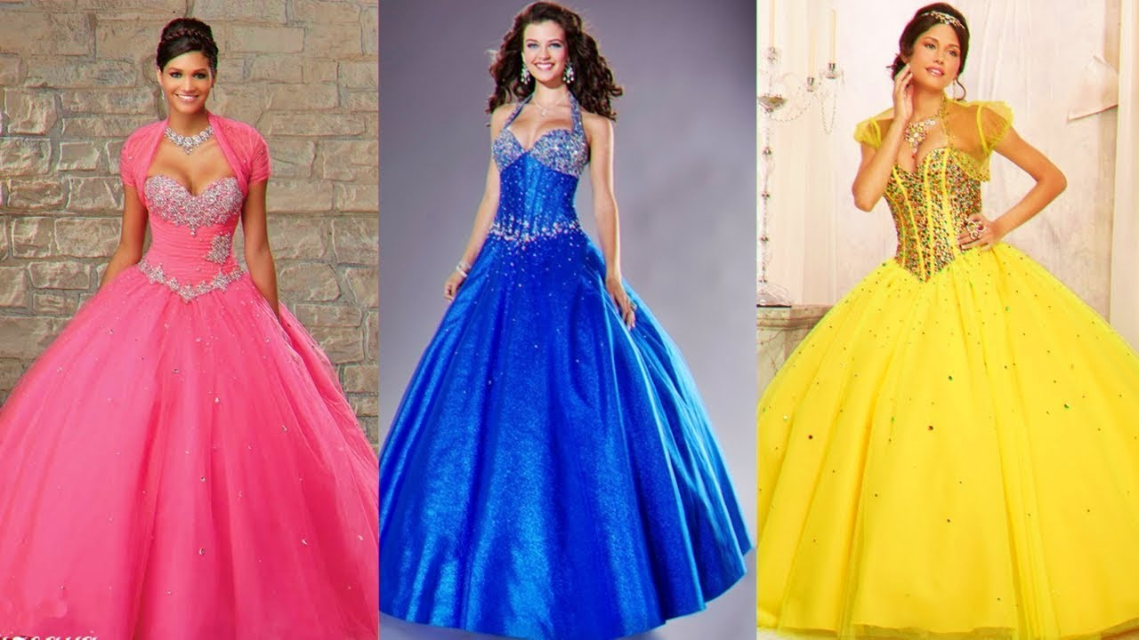 Hermosos Vestidos Para Xv Años Vestidos Colores De Temporada