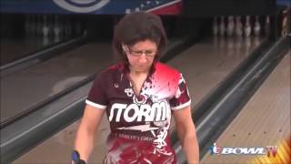 Liz Johnson 300 game 2013 Bowling's US Open