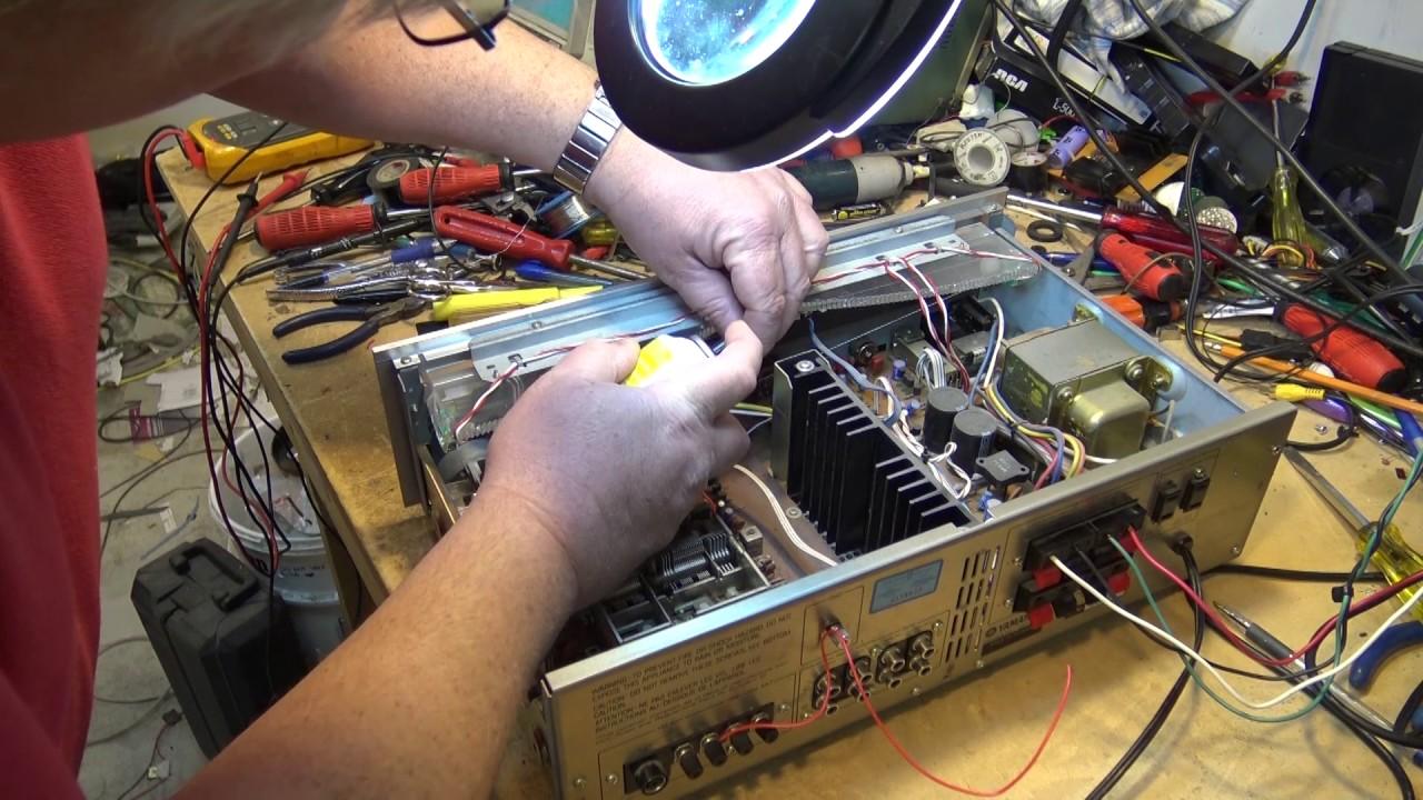 Yamaha CR240 receiver repair edit