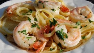 {pasta Recipe} Shrimp Scampi By Cookingforbimbos.com