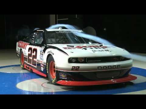 New Dodge Challenger R/T NASCAR Nationwide Series car