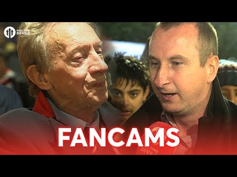 FANCAMS feat. Denis Law! Huddersfield 2-1 Manchester United