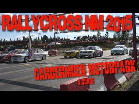 Rallycross NM 2015 - 4.runde - Gardermoen Motorpark