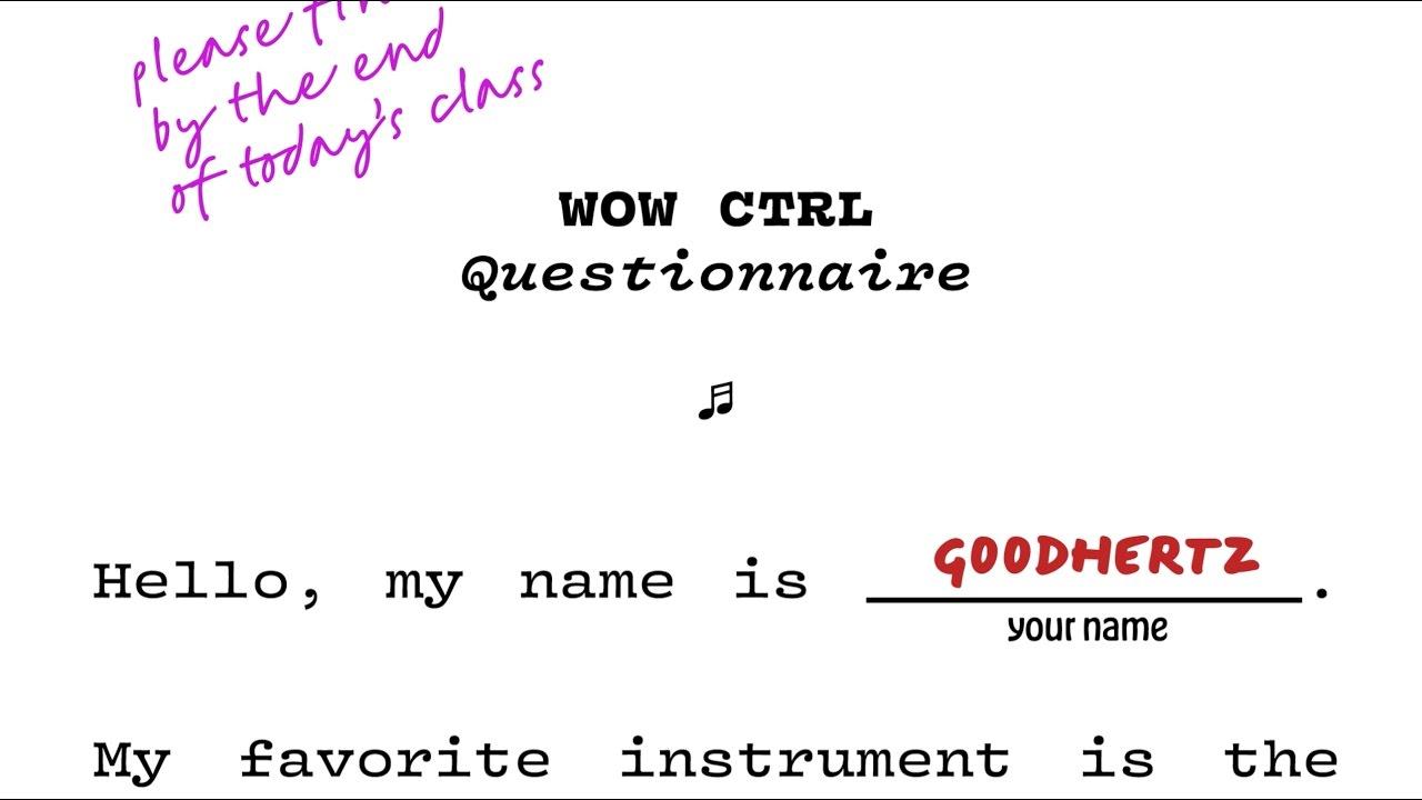 Wow Control | Goodhertz, Inc