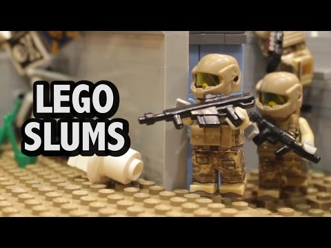 Custom LEGO Futuristic Slums | Bricks by the Bay 2016