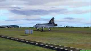 FSX Saab JAS-39 Gripen Airshow