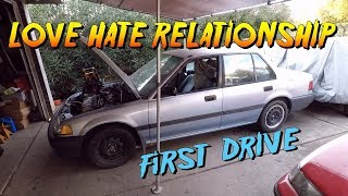 Buttoning up the EF sedan | First drive