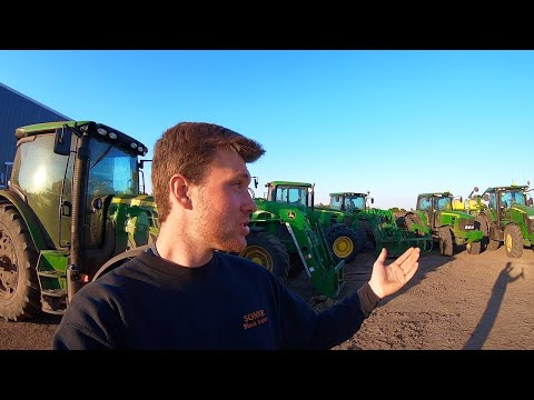 Sonne Farms Machinery Tour