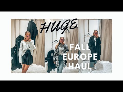 EUROPE FALL TRY-ON HAUL: Zara, H&M, Bershka, Subdued, &OtherStories Etc.