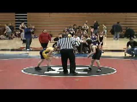 Devan Maxwell, Streetsboro vs Kenmore 86# Youth Wr...