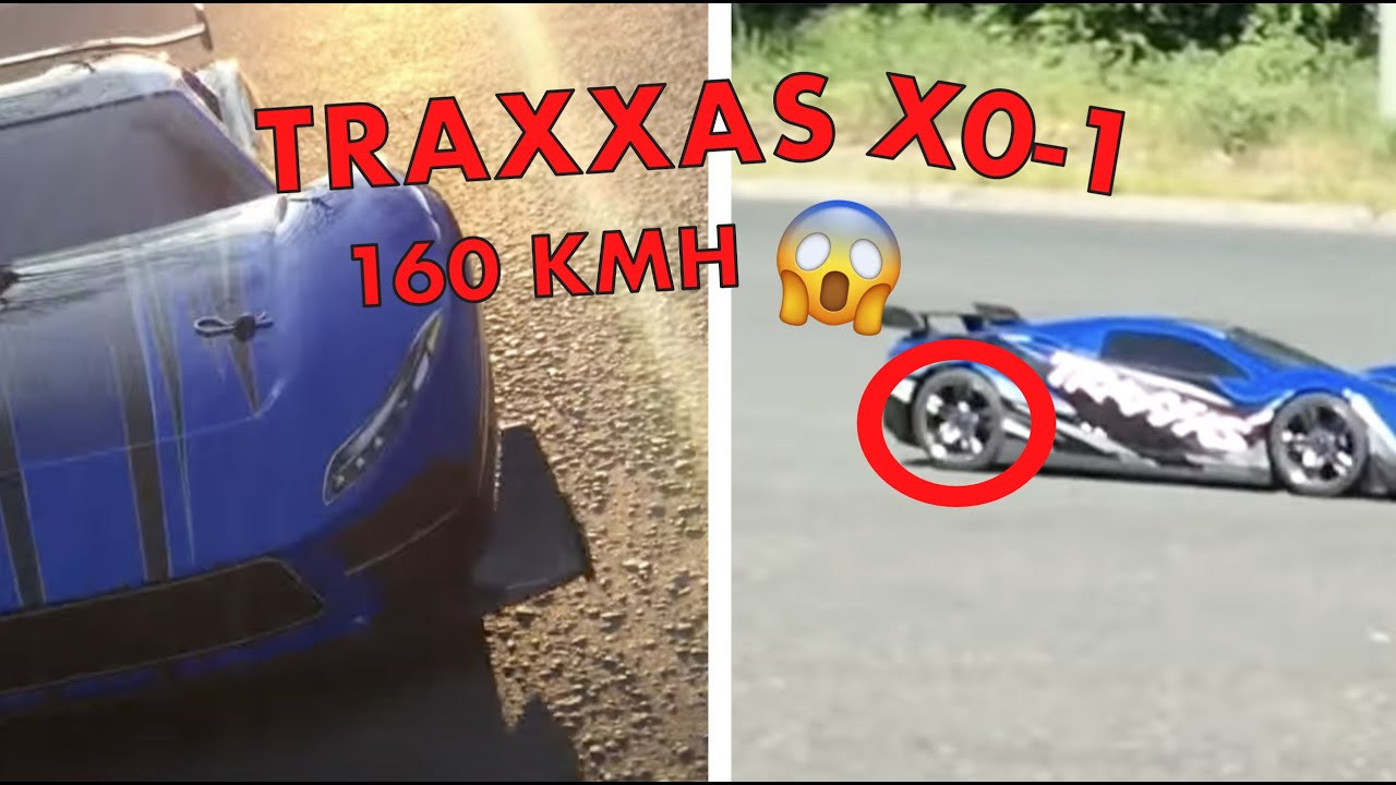 traxxas xo 1 100 mph 160 km h youtube. Black Bedroom Furniture Sets. Home Design Ideas