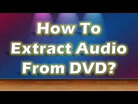 Extract Audio From DVD with LAME and FFmpeg extentions