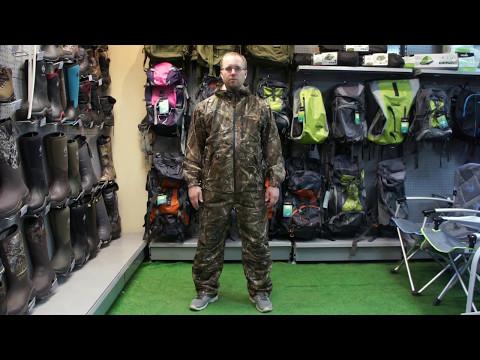 Видеообзор демисезонного костюма Norfin Hunting Compact Passion