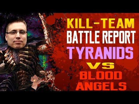 Tyranids vs Blood Angels Kill Team Batrep Ep 1