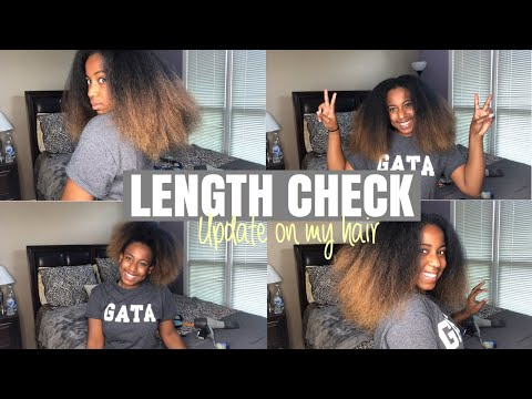LENGTH CHECK: July 2019 Hair Update