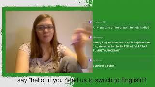 SHE returns! Mi revenas [plene Esperanto]