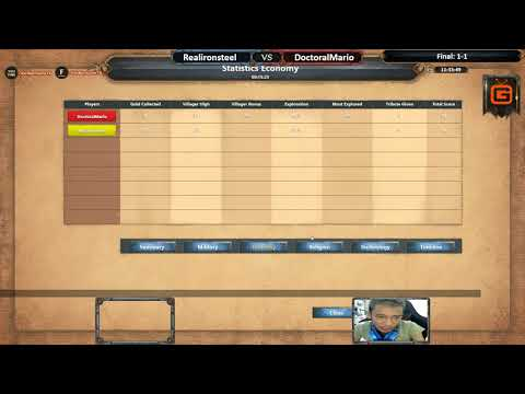 AoE DE | Realironsteel vs DoctoralMario | Final - Map 3: Inland | AoE DE Trial Cup | 05-03-2018
