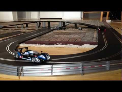 24 Hours of Le Mans 2012 (Scalextric Peugeot Total 908 HDi FAP Slot Cars)