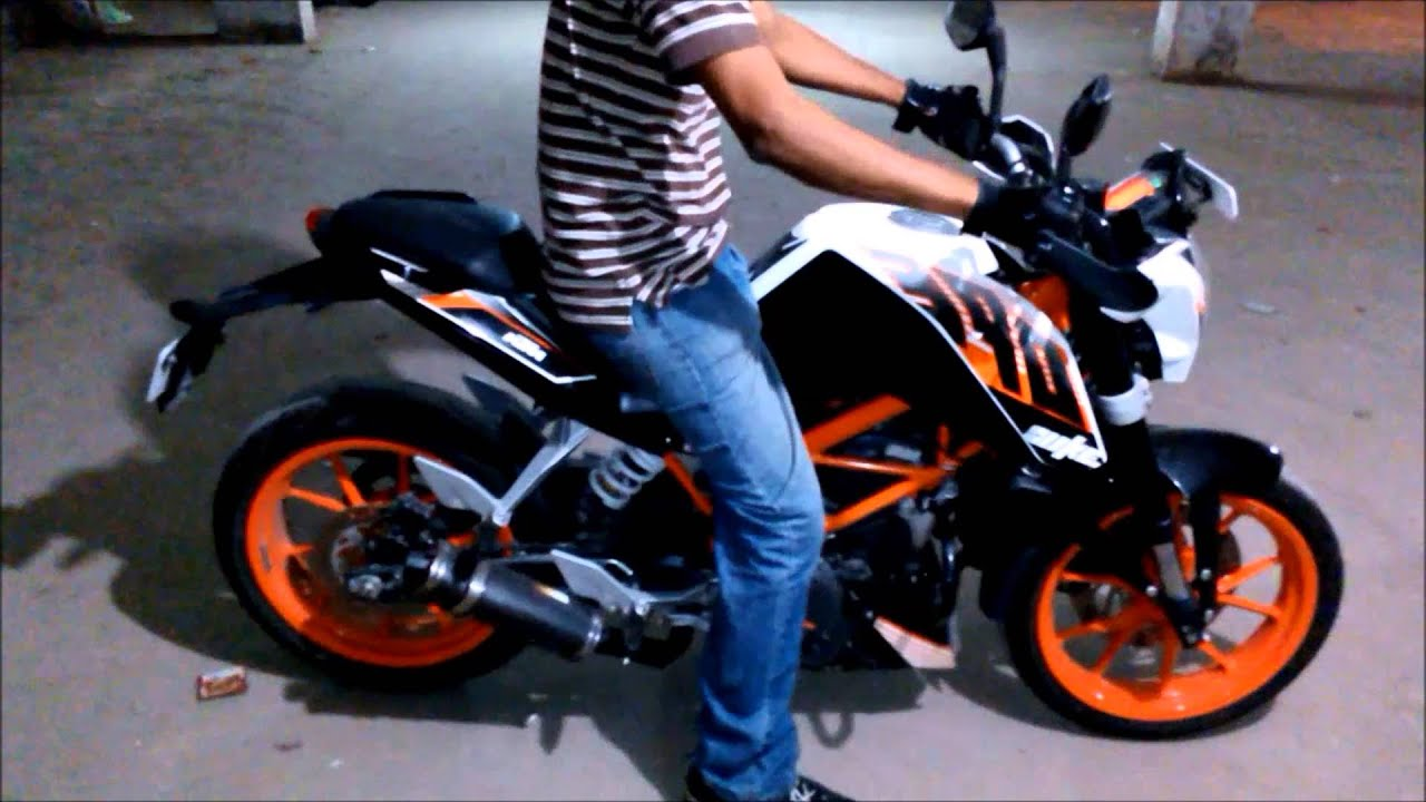 loudest ktm duke 390 exhaust youtube. Black Bedroom Furniture Sets. Home Design Ideas