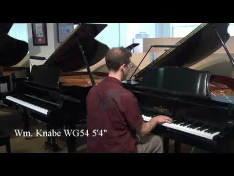 Comparing Knabe Baby Grand to Yamaha Baby Grand - Used Pianos Madison, WI