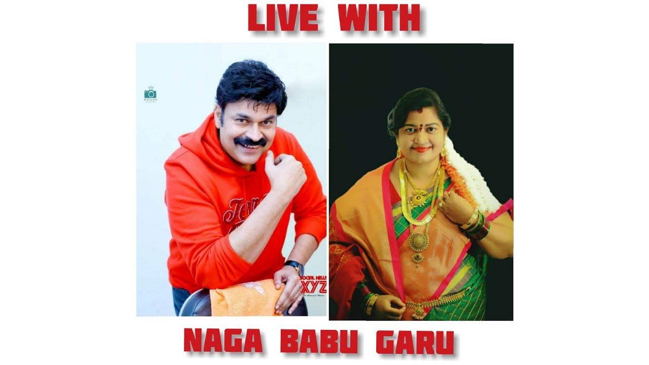 || live with nagababu garu || CherrySathakshi ||