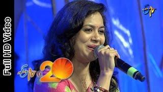 Sunitha Performance  Magamasam Eppudostundo Song in Tenali ETV @ 20 Celebrations