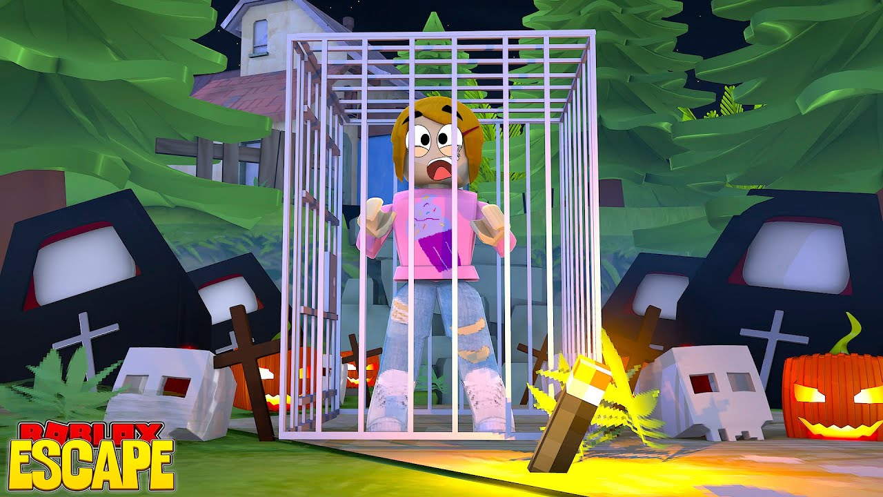 2017 Halloween Roblox Escape Halloween Obby With Molly