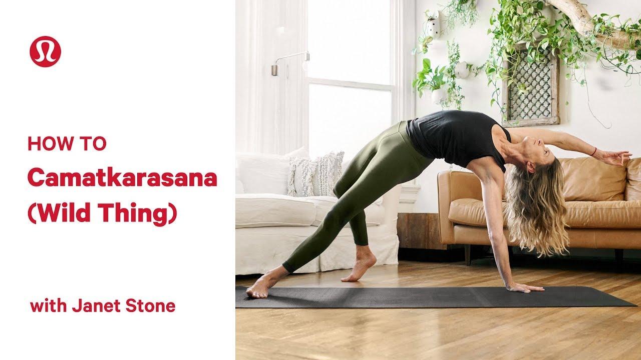 How To Wild Thing Pose (Camatkarasana) with Janet Stone