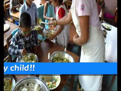 Tashi Waldorf School (Nepal) 'Healthy Food Program'  - Video Appeal