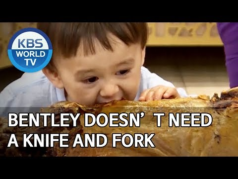 Bentley doesn't need a knife and fork [The Return of Superman/2020.01.12]
