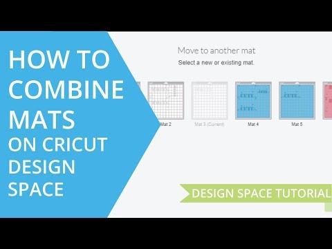 Combining Mats In Cricut Design Space - How To Move Designs On Mats & How To Combine Two Mats