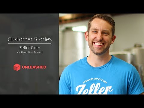 Unleashed Customer Stories: Zeffer easily brew ciders with Unleashed