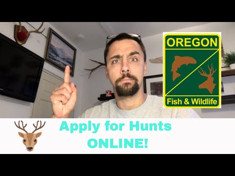 ODFW Apply For Hunts: How To (2020)