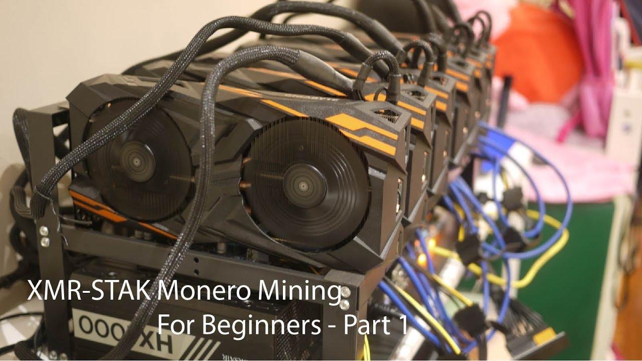 Configure Monero Mining with XMR-Stak on Vega56 - Part 1