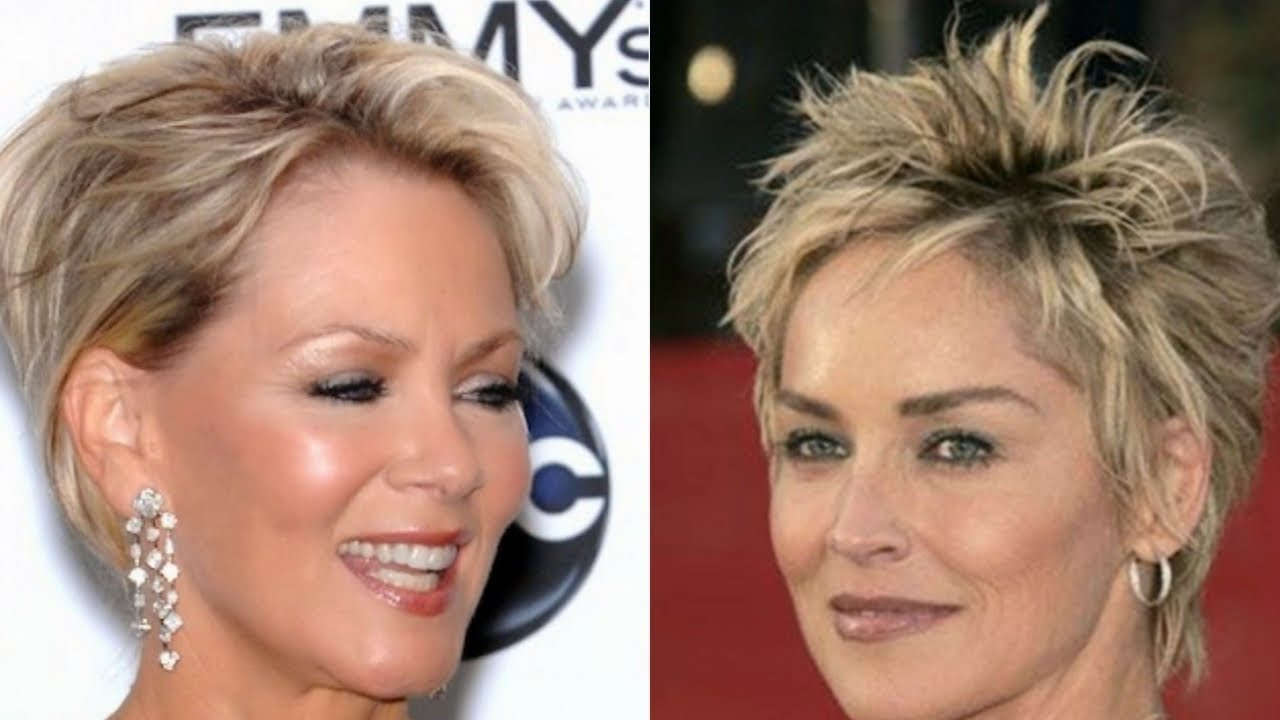 Short Hairstyles 2020 For Women Over 50 Youtube