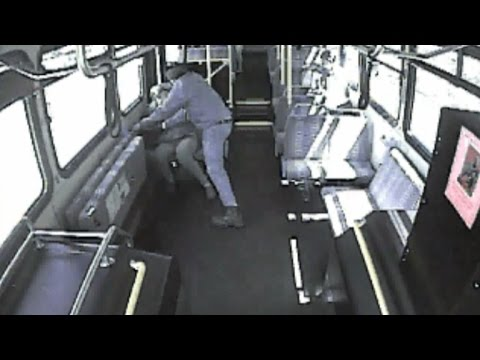 Woman arrested in death of senior citizen pushed off Las Vegas bus