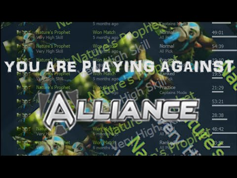 You are playing against Alliance