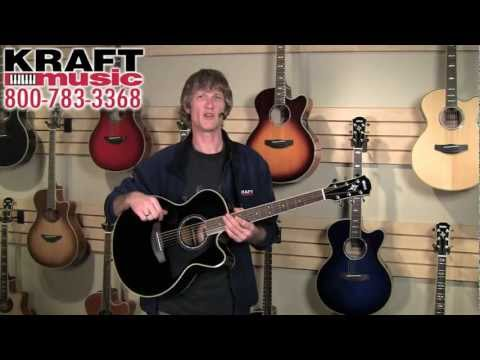 Kraft Music - Yamaha APX and CPX Series Demo with Jake Blake