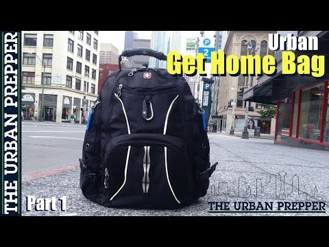 Urban Get Home Bag (Part 1) by TheUrbanPrepper