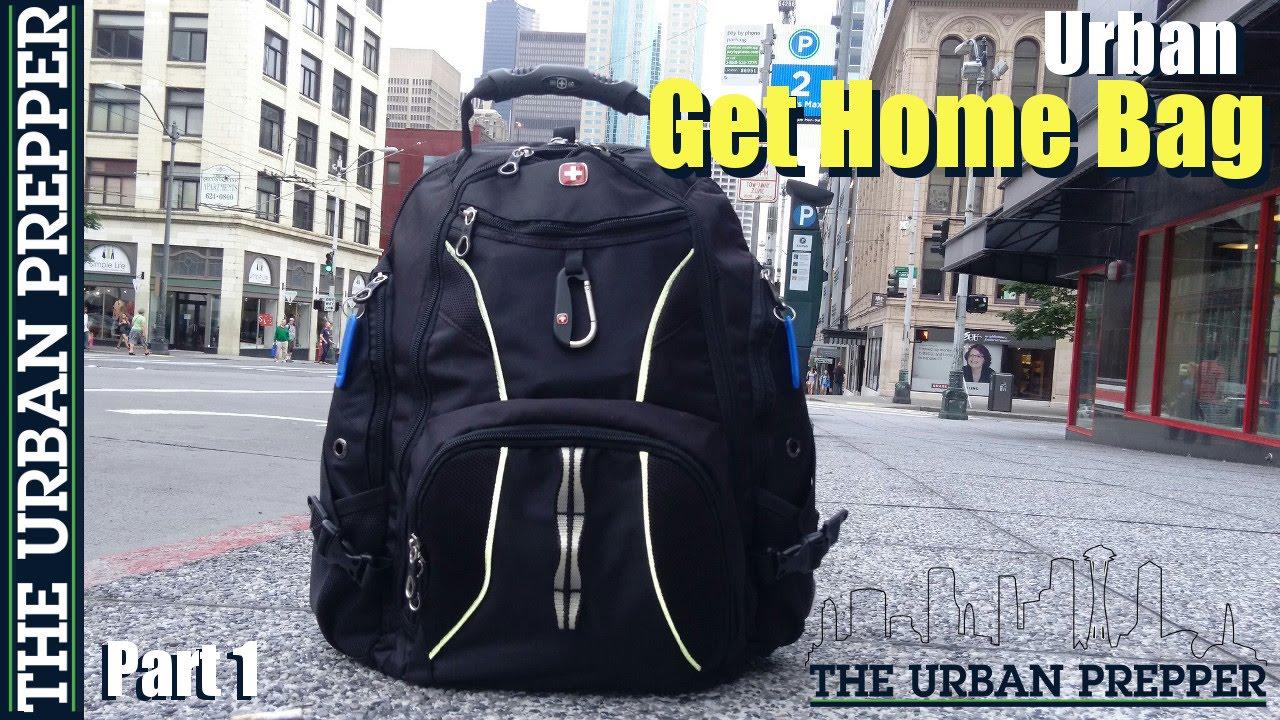Get Home Design Ideas: Urban Get Home Bag (Part 1) By TheUrbanPrepper